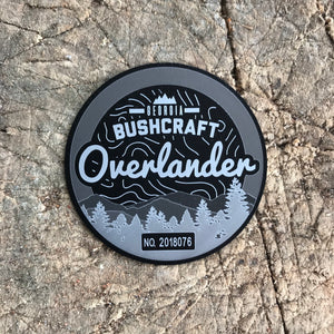 Metal Bushcraft Overlander Patch