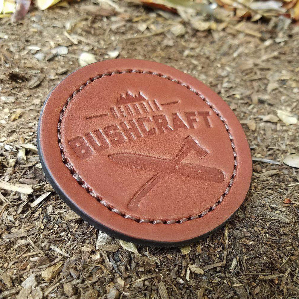 Reliance Leather Works GABC Leather/Velcro Patch