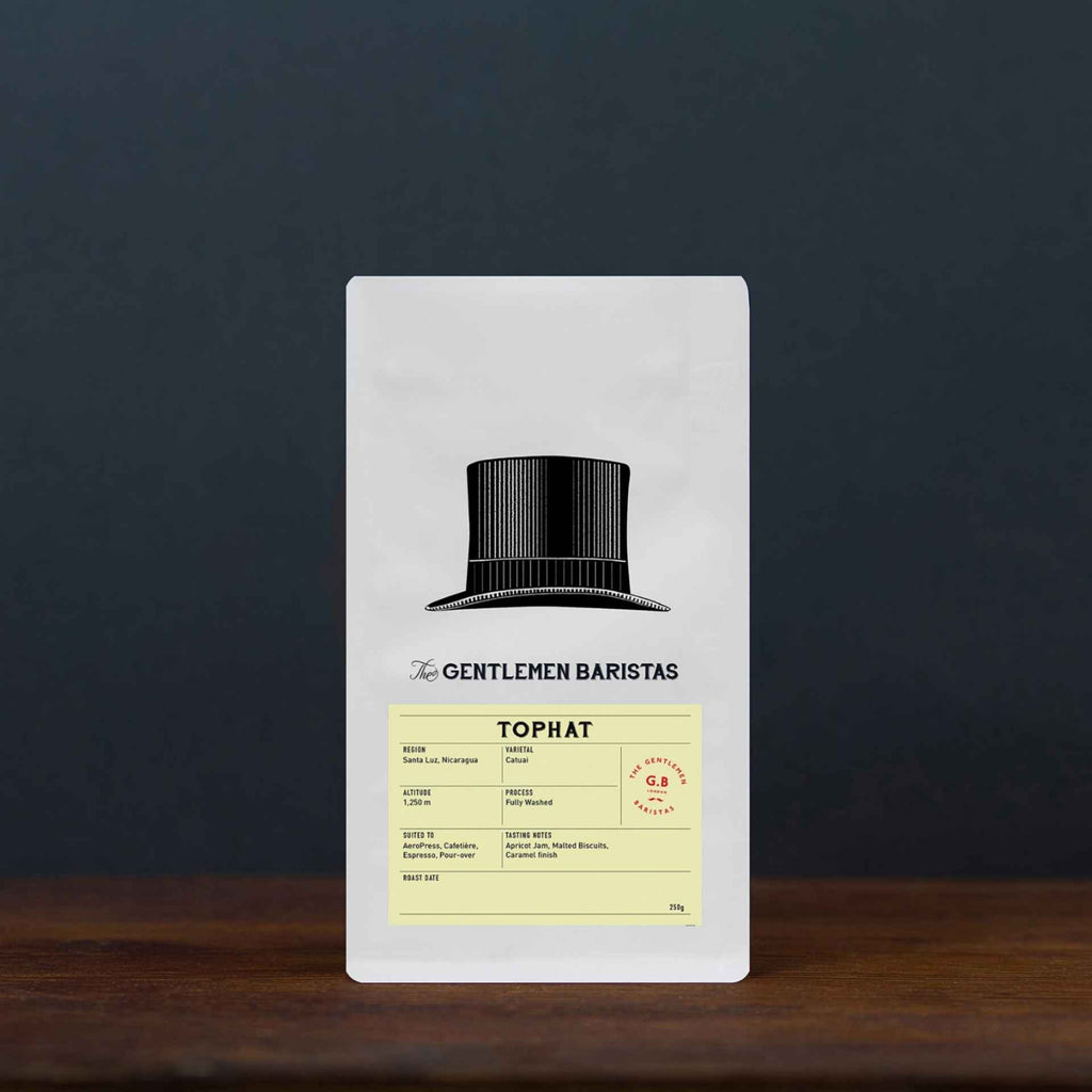 Top Hat <br>Single Origin <br>Nicaragua - The Gentlemen Baristas