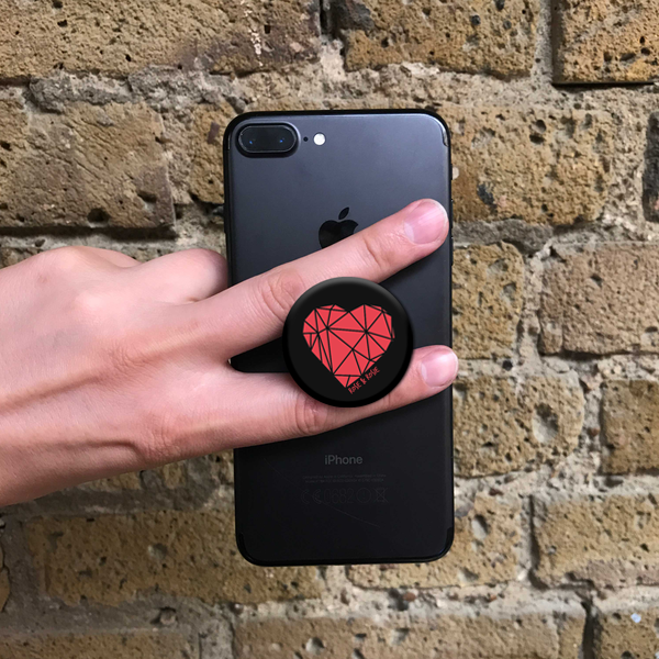 Geometric Heart Popsocket
