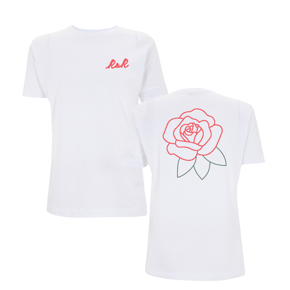 R&R Rose Front and Back T-Shirt