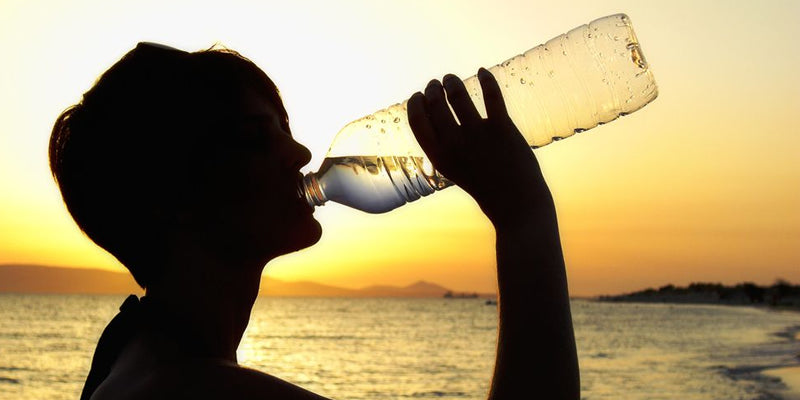 Drink more water to prevent foot cramps