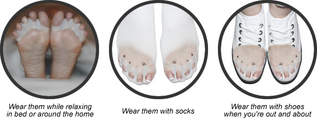 DuraFlex Gel Toe Seperators