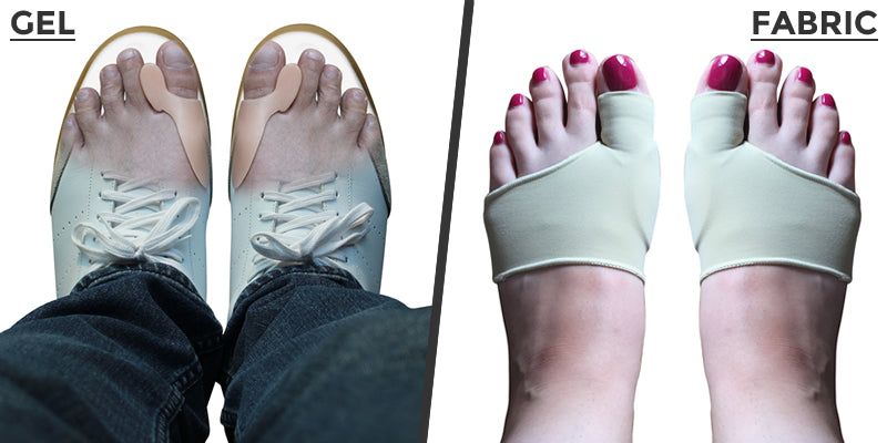 Gel and Fabric Bunion Corrector and Separator