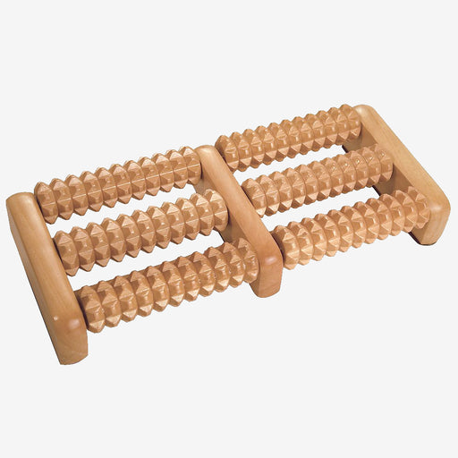 Twin Wooden Foot Roller