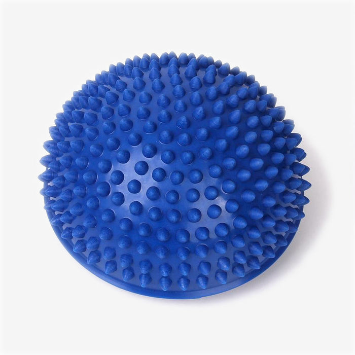 FootRevive Spiky Half Yoga Ball - Blue