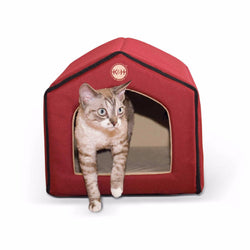 Heated Indoor Pet House-Cave Room Furniture