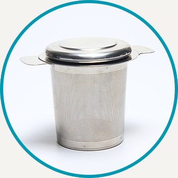 Stainless Steel Basket Infuser with Lid