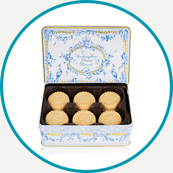 Buckingham Palace Royal Songbird Biscuit Tin