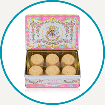 The Queen's 95th Birthday Shortbread Biscuit Tin