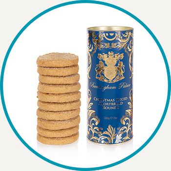 Buckingham Palace Christmas Spiced Biscuit Tube