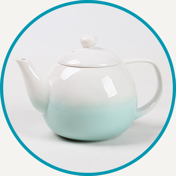 Celadon Green Dawn Teapot
