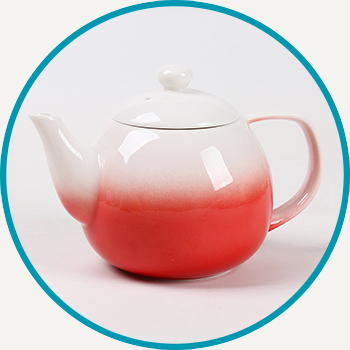 Red Dawn Teapot