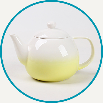 Yellow Dawn Teapot