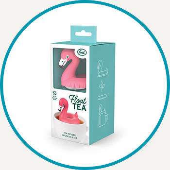 Fred Float Tea Flamingo Tea Infuser