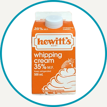 Hewitt's Whipping Cream, 500ml