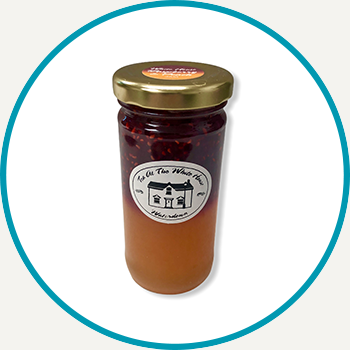 Raspberry / Peach Layered Jam (125ml)