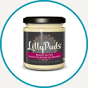 Lilly Puds Brandy Butter, 190g