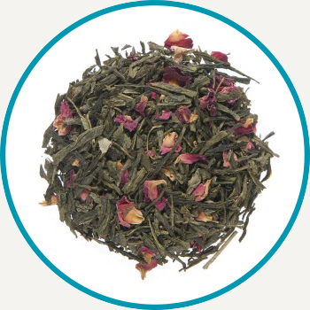 Rose and Cherry Green Tea
