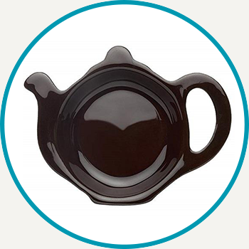 Brown Betty Teapot Tea Bag Rest