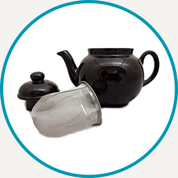 Brown Betty with Infuser Teapot (4 Cup)