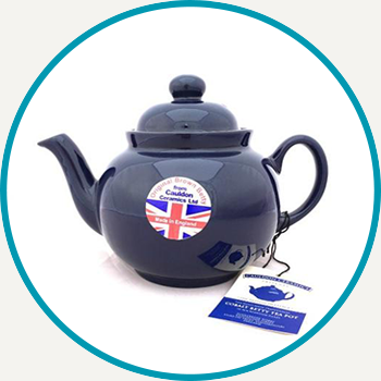 Colbalt Betty Teapot