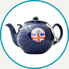 Load image into Gallery viewer, Colbalt Betty Teapot