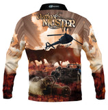 Kids Wear Outback Muster -Fishing shirt -quick dry - uv rated