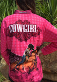 Cowgirl Pink - Fishing shirt - quick dry - UV rated