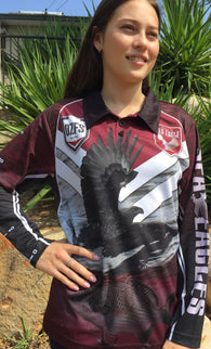 Sea Eagles -Fishing shirt -Quick dry - Uv rated