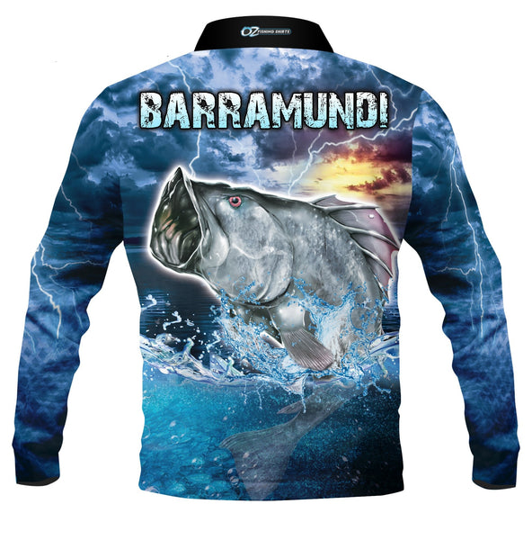Jumping Barra - Fishing shirt - Quick dry - UV rated
