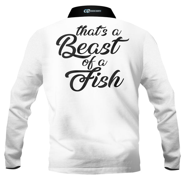 Beast of a Fish -Fishing shirt -quick dry - uv rated