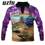 Cape York Purple -Fishing shirt -quick dry - uv rated