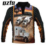 Cattle trucks  polo fishing  quick dry uv rated shirt