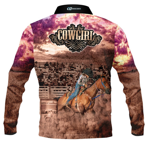 Kids Wear Cowgirl - Fishing shirt - quick dry - UV rated