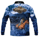 Cowgirl Blue - Fishing shirt - quick dry - UV rated