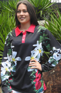 Tropical Queen - Fishing shirt - quick dry - UV rated