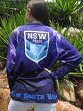 NSW Proud Fishing  -Fishing shirt -Quick dry - Uv rated