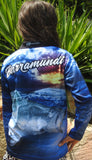 Barramundi Blue - Fishing shirt - quick dry - UV rated