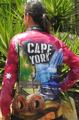 Cape York Pink -Fishing shirt -quick dry - uv rated