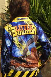 Kids Wear Little Builder -Fishing shirt -quick dry - uv rated