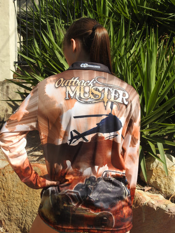 Outback Muster -Fishing shirt -quick dry - uv rated