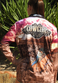 Cowgirl -Fishing shirt -quick dry - uv rated