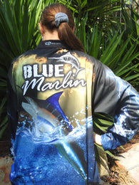 Marlin Black Storm - Fishing shirt -quick dry - UV rated