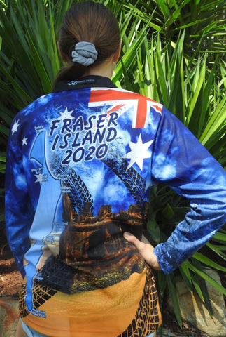 Aussie Frazer 2020 -Fishing shirt -quick dry - uv rated