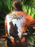 Outback Country - Fishing shirt - quick dry - uv rated