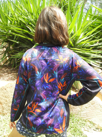 Floral - Fishing shirt - quick dry - UV rated