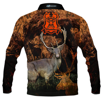 DEER HUNTER SHIRT-Fishing shirt -quick dry - uv rated
