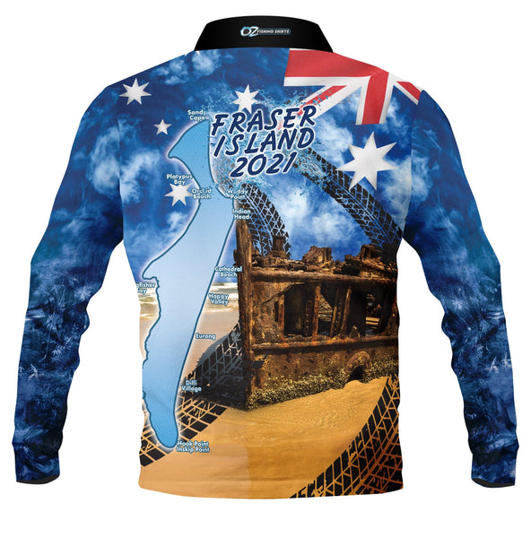 Aussie Frazer 2021 -Fishing shirt -quick dry - uv rated