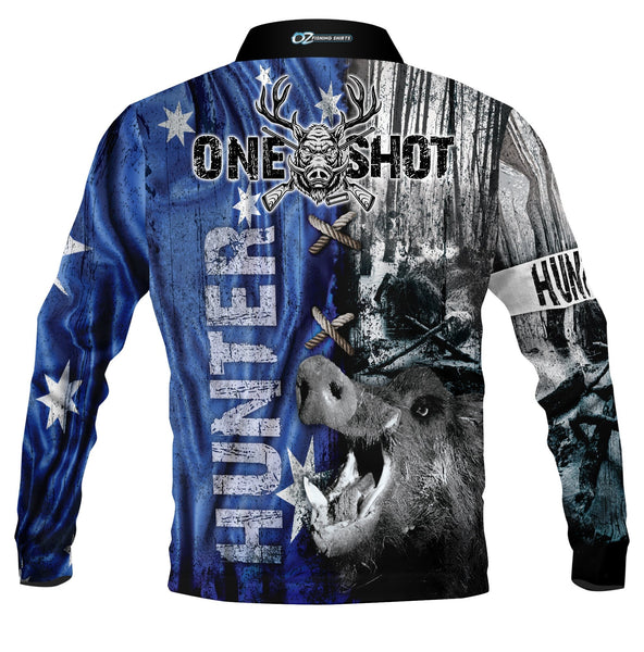 One Shot Hunter - Polo Fishing shirt - quick dry - UV rated